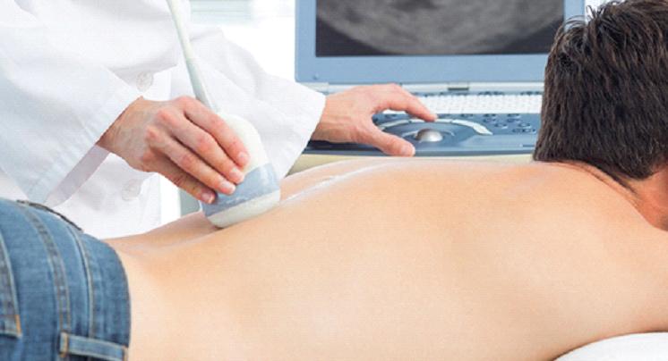 УЗИ шейного отдела поясничного и грудного отдела позвоночника